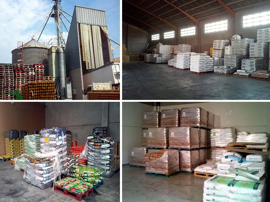 Cereals i pinsos marrugat magatzem