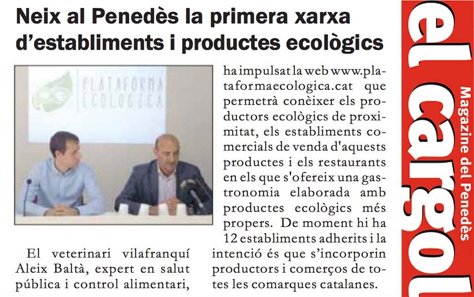 El Cargol Plataforma Ecologica