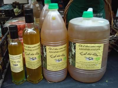 Oli d'oliva ecològica