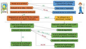 Diagrama de flujo del proceso de registro de operadores del ccpae